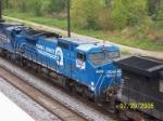 Closeup of ex Conrail 8441