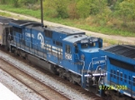 Closeup of ex Conrail 8210