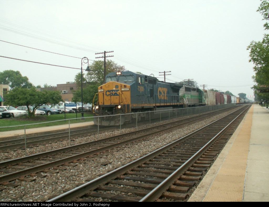 CSX Manifest Working West