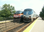 Metra and Amtrak