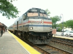 Amtrak 334 Departing