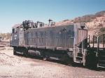 AZER 25 at mine service yard