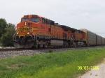 BNSF 5245 & BNSF 4510