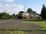 CSX Locomotive 699 Passes Route 601