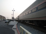 Amfleet coaches on a Pacific Surfliner route