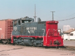 SP 2633 in SP yard