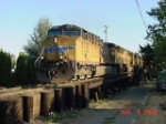 UP 5778 leads PNWR Eugene Hauler