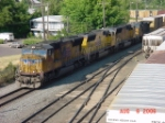 UP 4809 leads the Eugene Hauler
