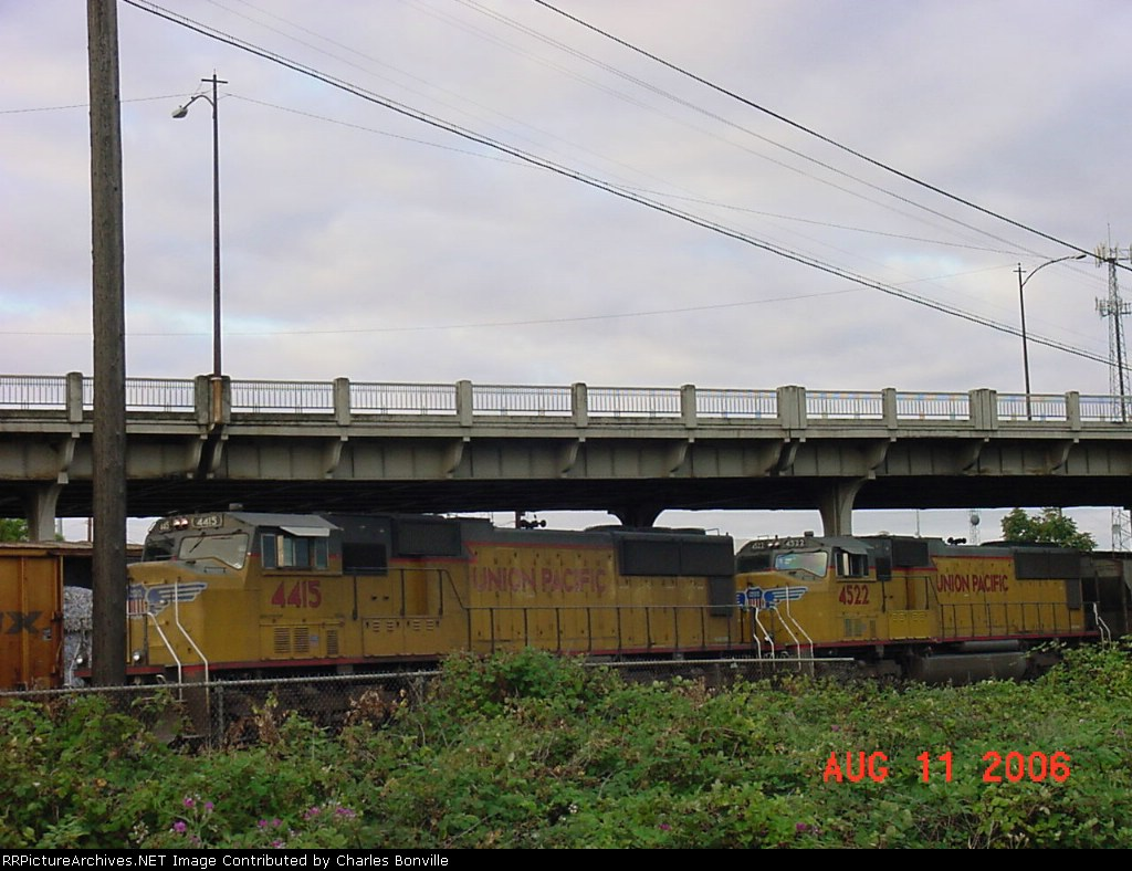 UP 4415 and 4522