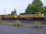 UP 3190 lead 4-loco power move