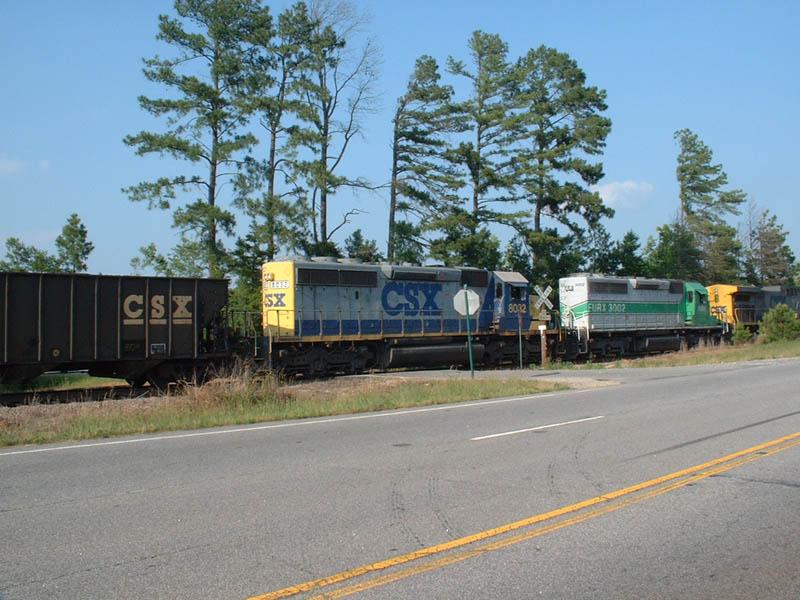 CSX Northbound stalled