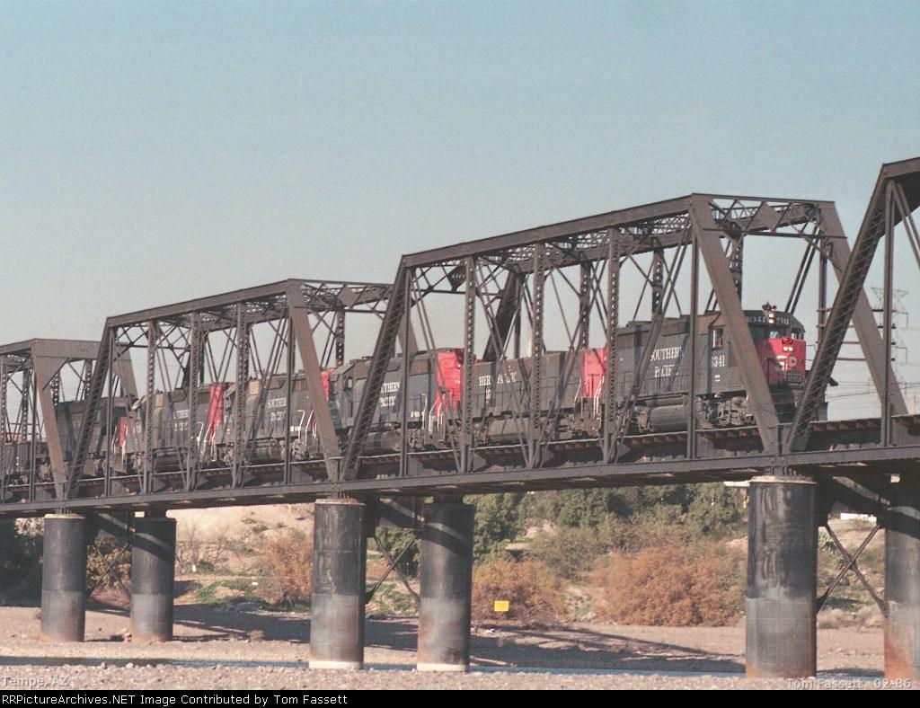 Crossing the Salt River Bridge