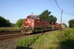 CP 9625 heads up the CSX