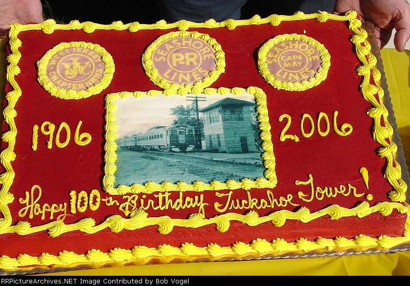 Tuckahoe Tower birthday cake