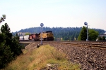 UP 7031 WESTBOUND TO SPOKANE SUNSET JUNCTION