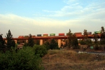 BNSF 4466  APPROACHING SPOKANE EAST BOUND LOOKING SE