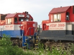 Cabs of HESR 3866 & 3867