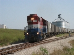 3865 pulls out of the ethanol plant with the 810 job