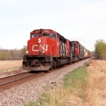 CN 5321 Northbound taken 4 miles east of Marshfield WI
