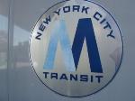 old style New York City Transit logo, circa 1972-94