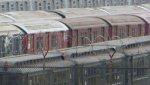 NYCT IRT Main Line R36s 9542 & 9543 (with World's Fair R33 single unit 9343)
