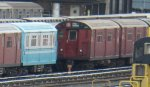 "NYCT IRT Main Line R36 9543 with World's Fair R33 ""Blue Arrow"" Single Unit 9307"