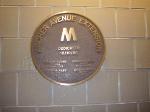 Archer Avenue Extension dedication plaque