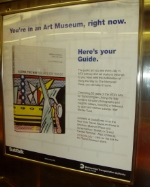 Did you know that the subway is an art musuem?