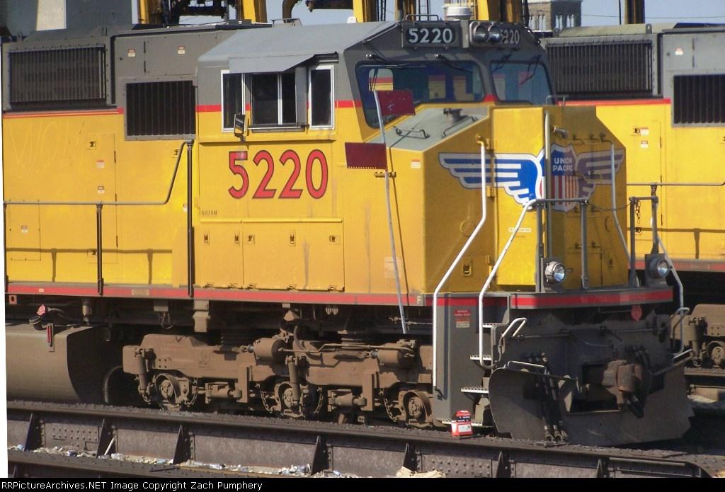 Union Pacific SD70M