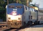 Northbound Amtrak Texas Eagle Train #22