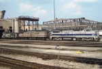 Tied Down Amtrak Locomotives