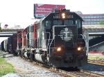 Northbound CN Manifest With IC Power