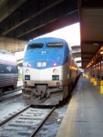 Eastbound Amtrak Pennsylvanian Train #42