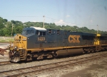 Parked CSX Power
