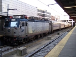 Northbound Amtrak Regional Acela Train #66