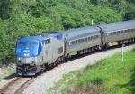 Northbound Amtrak Downeaster Train #683