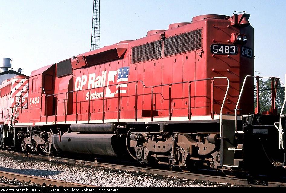 CP 5483 Brick at