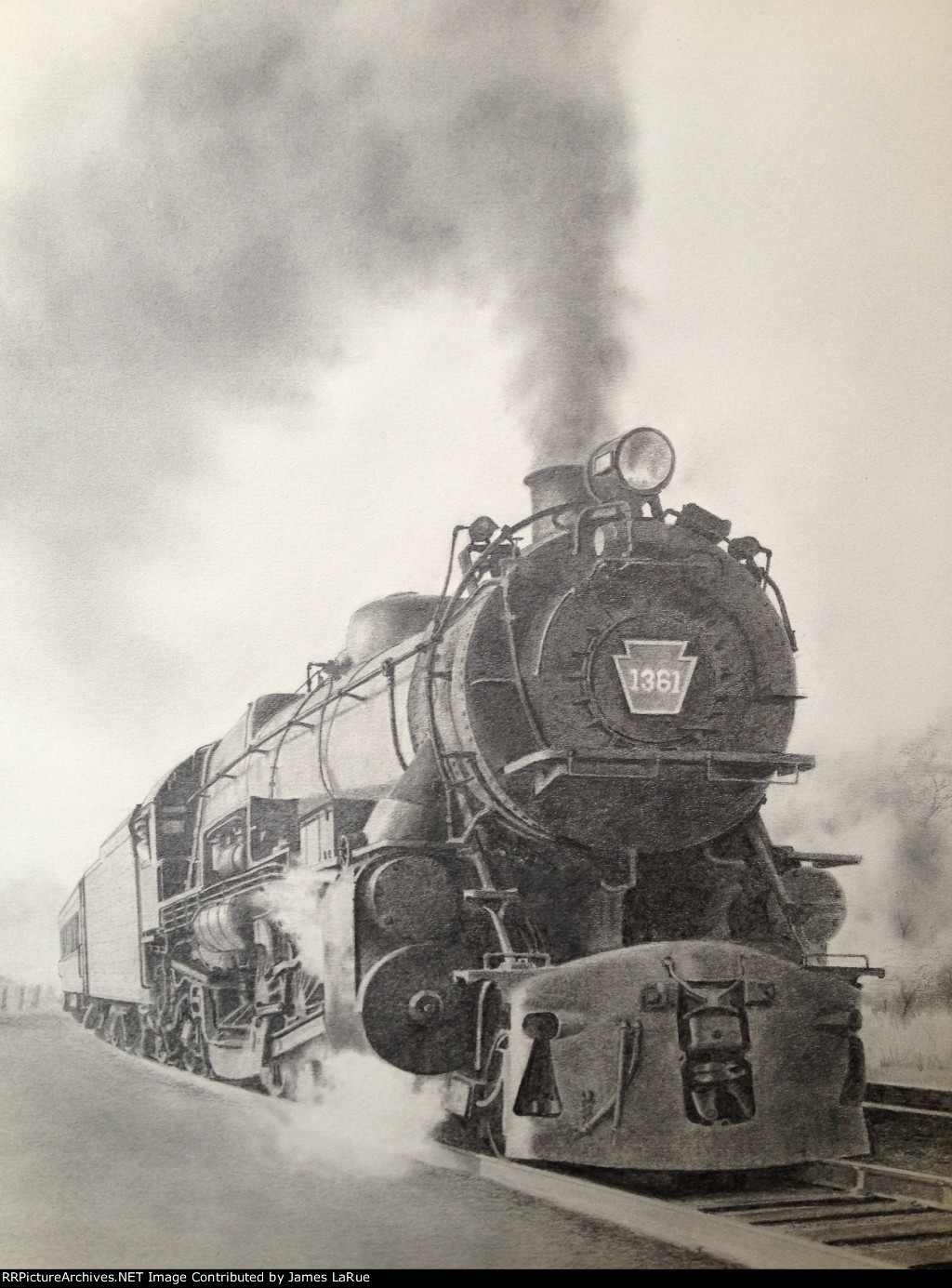 PRR 1361 at Bay Head