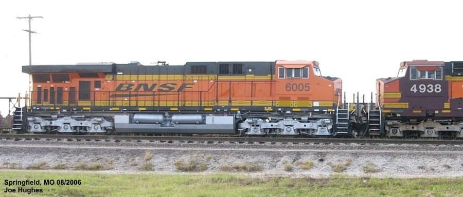 BNSF 6005