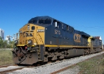 CSX K966 near the end of the line