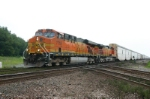 BNSF 7718 is on the Automax train