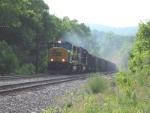 Coal Train in the Virgina Mountains