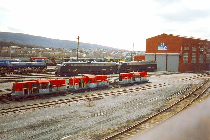 Conrail E-Units