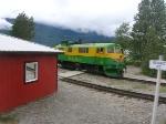 Locomotive in White Pass yard