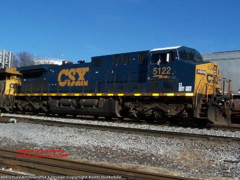 CSX AC44CW 5122