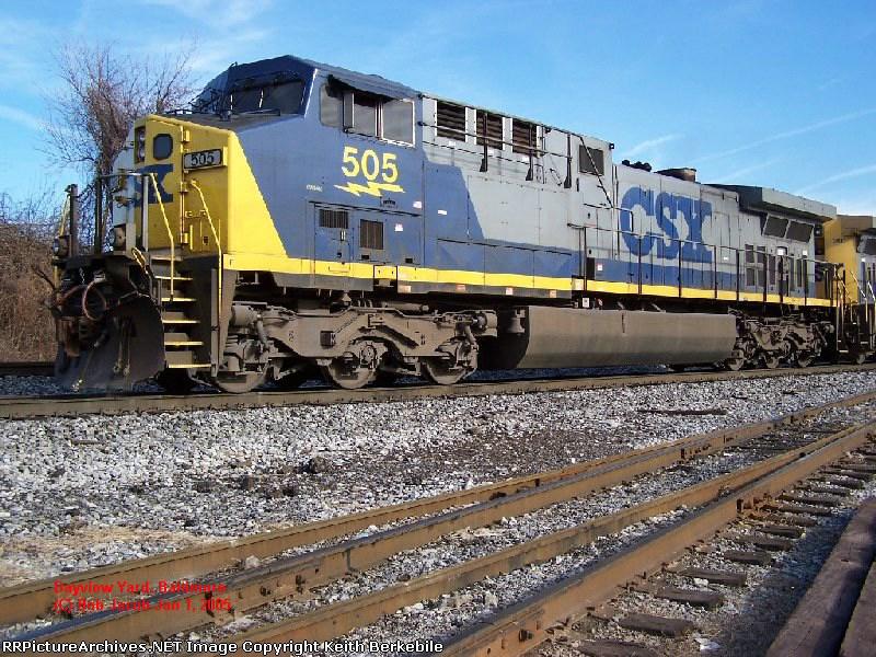 CSX AC44CW 505