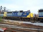 CSXT GP40-2 #6033