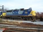 CSXT GP40-2 #6151