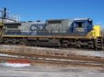 CSX C40-8 7507