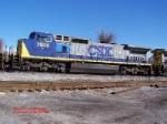 CSX C40-8W 7809